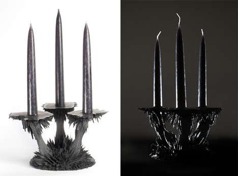 Spiky Gothic Candelabras