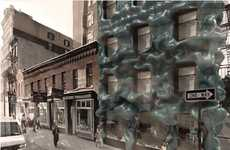 Goopy Urban Exteriors - Sartorial Tectonics Aims to Engage Passers-by with an Engrossing Facade