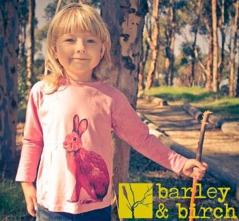 Animal-Printed Children's Clothing