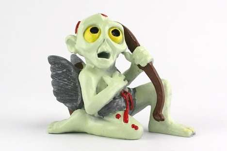 Undead Love Angels - This Cupid Gift is a Creepy Way to Show Your Love this Valentine's Day