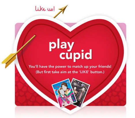 The Valentine's Day Cupid Character Spreads Far and Wide