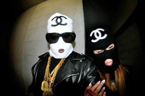 Haute Imposter Ski Masks - The Vinny Cha$e Luxy 'Chanel' Ski Masks Sell Out