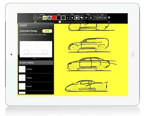 Teamwork-Based Tracing Apps - This Creative App for the iPad Encourages Productive Collaboration