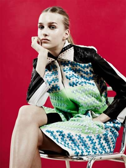 Exuberant Textural Fashions