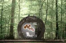 Eco-Friendly Portable Hotels - The In-Tenta Drop Eco Hotel Concept is Organic
