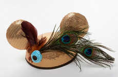High Fashion Mouse Caps - Couture Ear Hats Reign in the 'Year of the Ear'