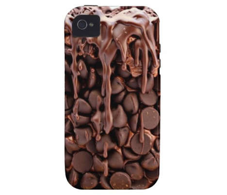 Melting Chocolate Phone Protectors