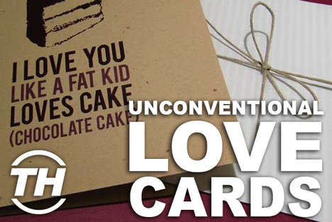 Unconventional Love Cards - Shelby Walsh Unveils Cool Valentine Cards for the Love-Focused Holiday