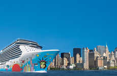New York-Inspired Cruise Ships - The Norwegian Breakaway Embodies a Big Apple Flair