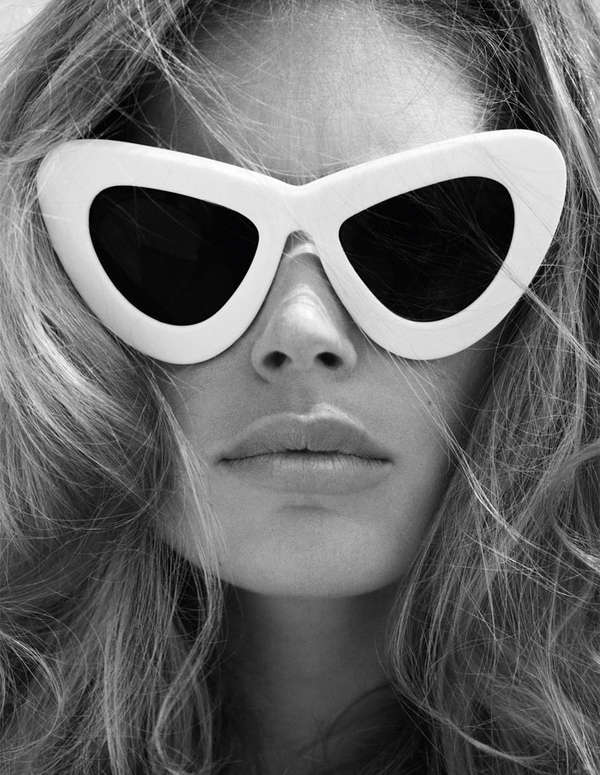 80 Opulent Eyewear Editorials