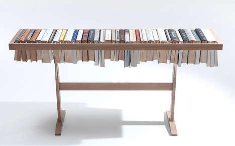 Table Top Novel Storage