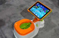 Toddler Tablet Toilets - The CTA iPotty Makes iPad Potty Training a Reality