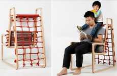Jungle Gym Recliners - The Abooba Chair Lets Parents Sit Comfortably While Playing with Their Kids