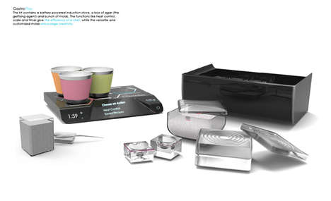 Molecular Meal Makers - The GastroPlay Kit Brings the Science of Food Preparation to Amateur Chefs