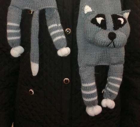 Knitted Feline Neckwear