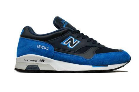Dual Blue Tone Sneakers