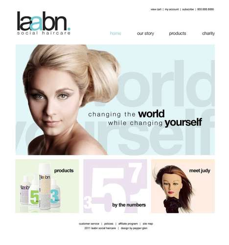Donation-Branded Haircare