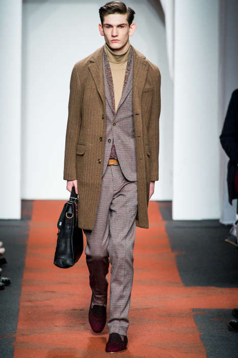 The Missoni 2013 Menswear Collection Exudes a Professor Vibe