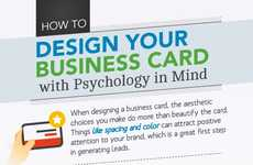 Credential Appearance Infographics - The Psychology Behind How You Design Your Business Card
