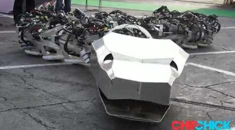 Giant Robotic Cobras