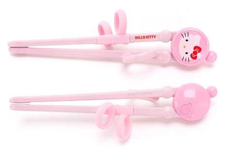 Cartoon Kitty Chopsticks