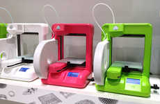 Large Object Printers - The Cubex 3D Printer by Cubify Can Produce a Basketball