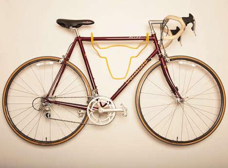 Taxidermy-Inspired Bike Racks