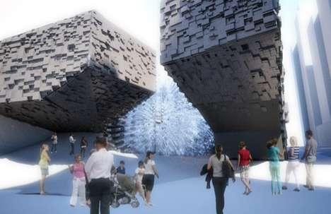 Pixelating Public Architecture