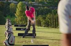 Glass-Shattering Golf Campaigns - No Cup is Safe is a New Nike Commercial Featuring Tiger Woods