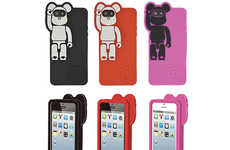 Silicone Bear Phone Covers - The Medicom Bearbrick iPhone 5 Cases Are Quirky