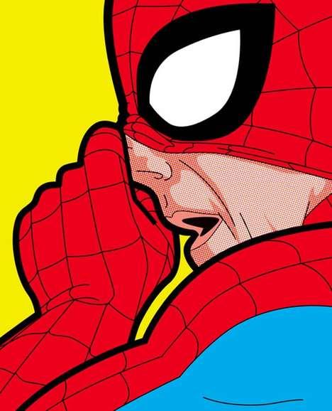 Embarrassing Superhero Captures