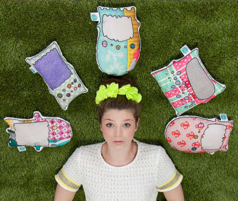 Quirky Character Cushions