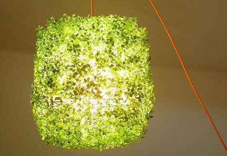 Green Inside and Out Lights - Grass-on Lamp