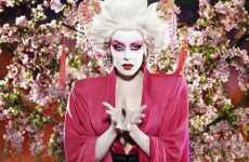 Geisha Glam - Kylie's New Tour Look