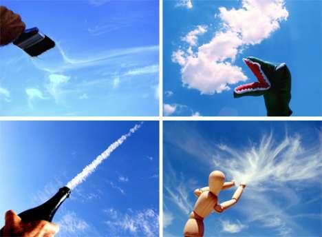 Cloud Shape Photo Sets