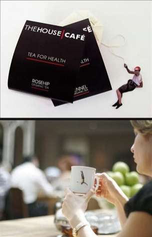 House Cafe Tea Packaging