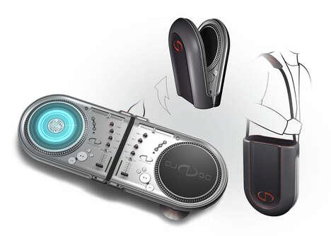 Ultra Portable DJ Decks