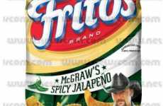 Celebrity Junkfood - Tim McGraw Corn Chips