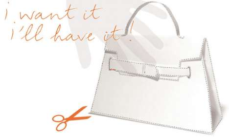 DIY Status Bags - Printable Hermes Kelly