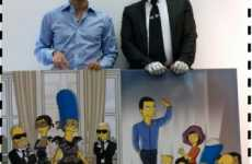 Animated Fashion Designers - Marc & Karl on the Simpsons