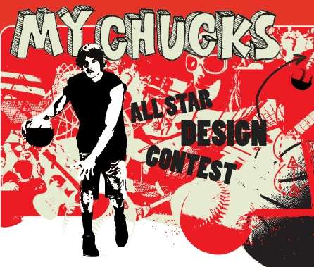 All-Star Show Design Contest - Converse Chuck Taylor MyChucks Competition
