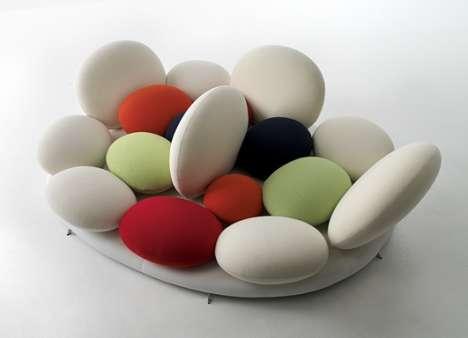 Candy-Bowl Shaped Sofa