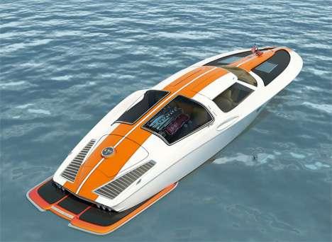 Amphibious Muscle Cars