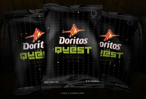 Mystery Flavors - Doritos: The Quest