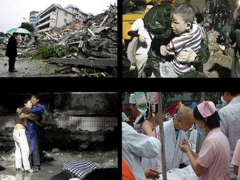 Exposing Humanity Through Photos - Images of China's Earthquake