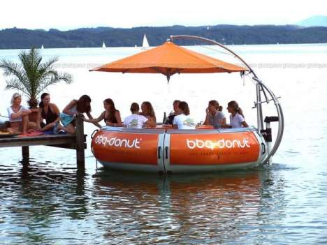 Floating Restaurant Tables - BBQ-Donut