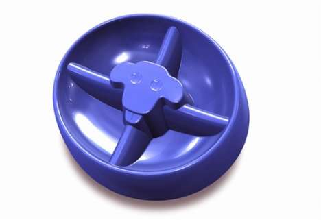 Pet Food Consumption Control - DogPause Dog Bowl