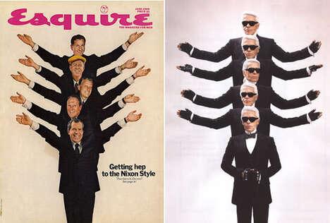 Recreating Magazine Covers