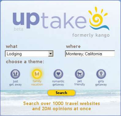 Meta Social Travel Reviews - UpTake.com