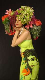 Floral Head Bouquets - The Headdress Affair Benefit